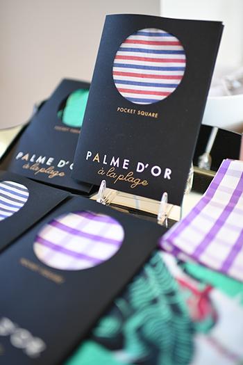 Palme d' or pocket squares, gifts