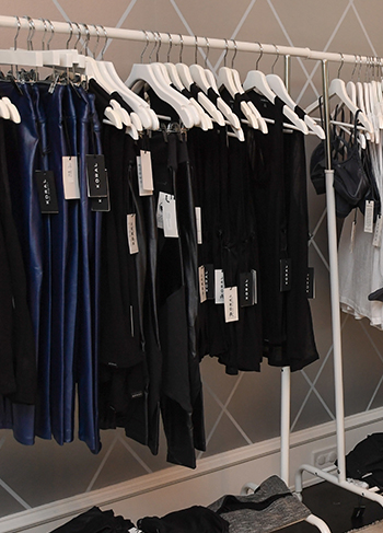 Workout clothes by Koral. Made in LA and sold at Intwo's event in houston. workout clothes, exercise clothes, yoga, pilates, cardio